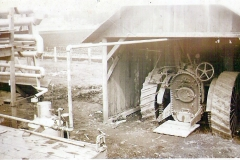 Tractor for first still